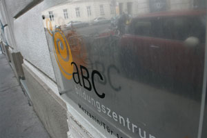 abc Türschild
